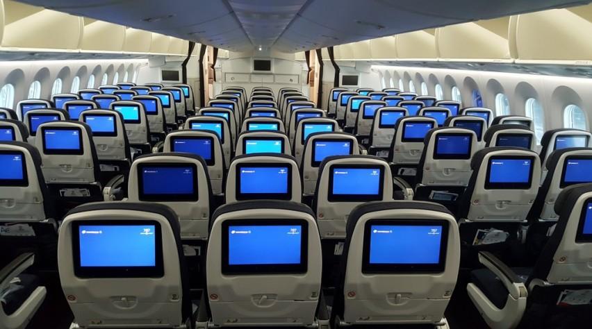 Aeromexico 787-9 interior