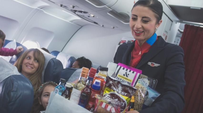 Air Malta catering
