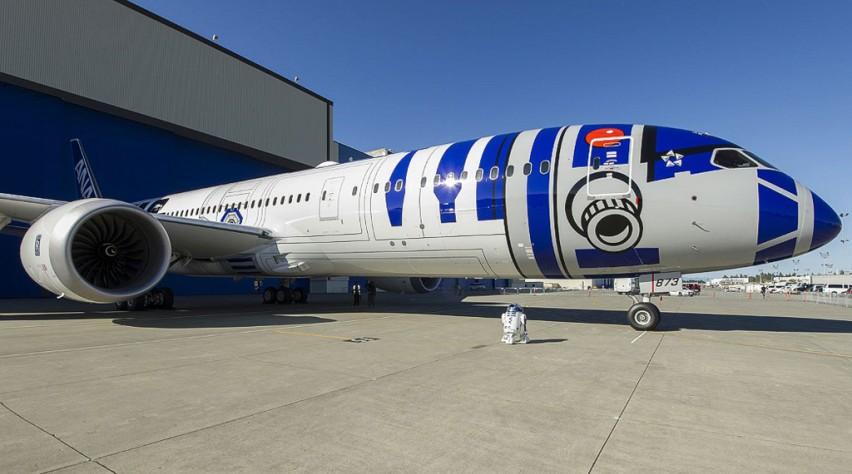 ANA Star Wars Boeing 787 Dreamliner