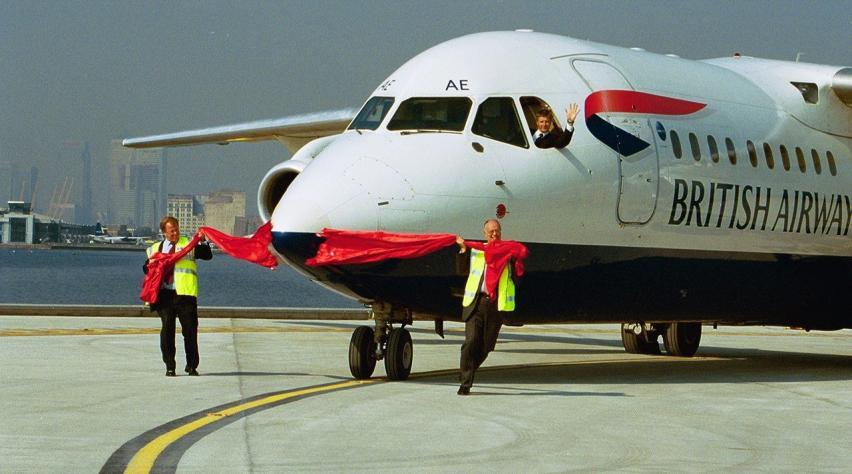 British Airways RJ100