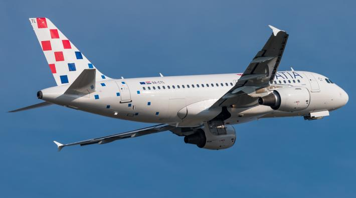 Croatia Airlines A319 new