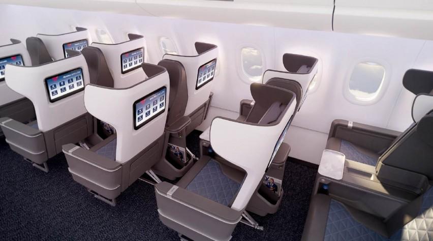 Delta A321neo First Class