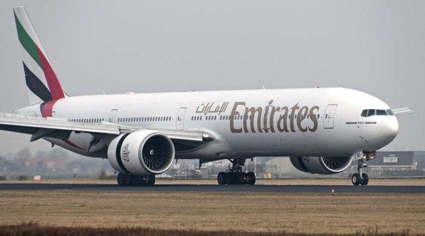 Emirates Boeing 777-300ER Schiphol