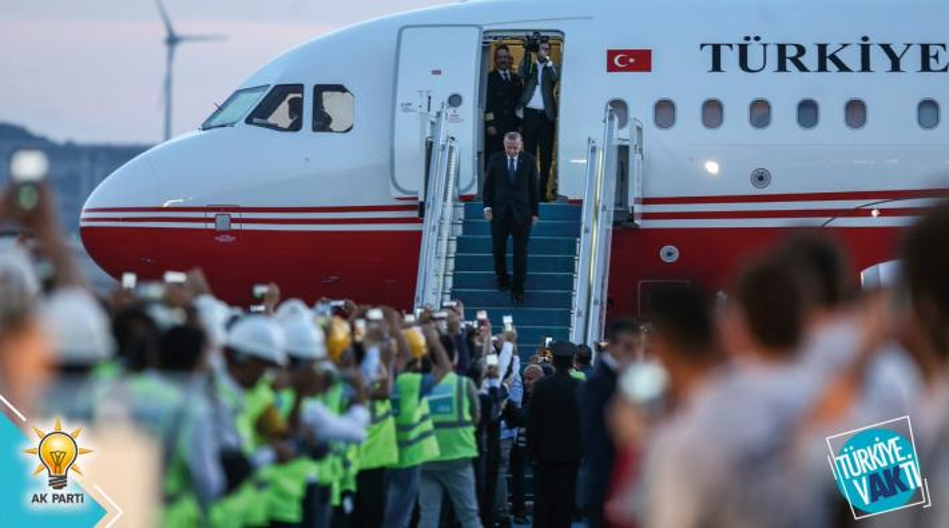 Erdogan op Istanbul New Airport