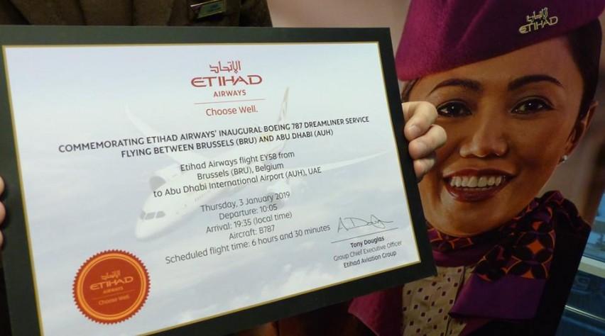 Etihad Airways Brussel