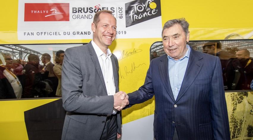 Eddy Merckx Thalys gele trui