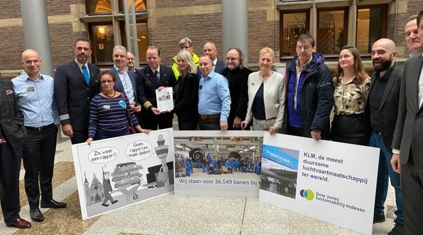 KLM OR petitie