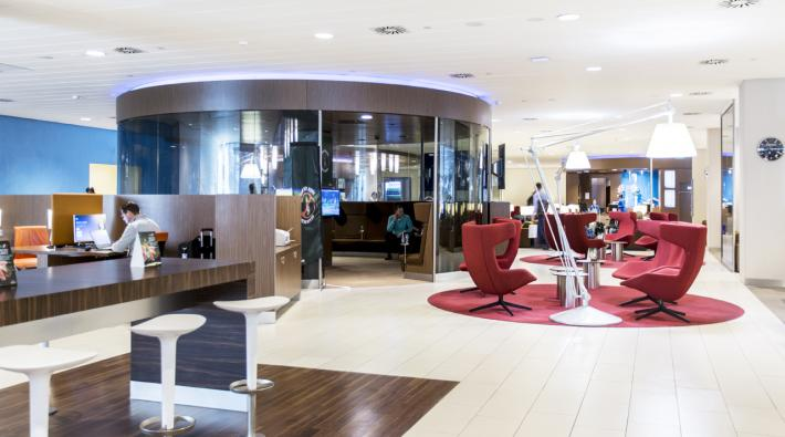KLM Schengen Crown Lounge