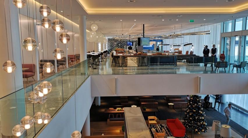 Nieuwe KLM Crown Lounge
