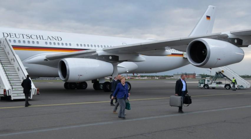 Merkel Luftwaffe Airbus A340