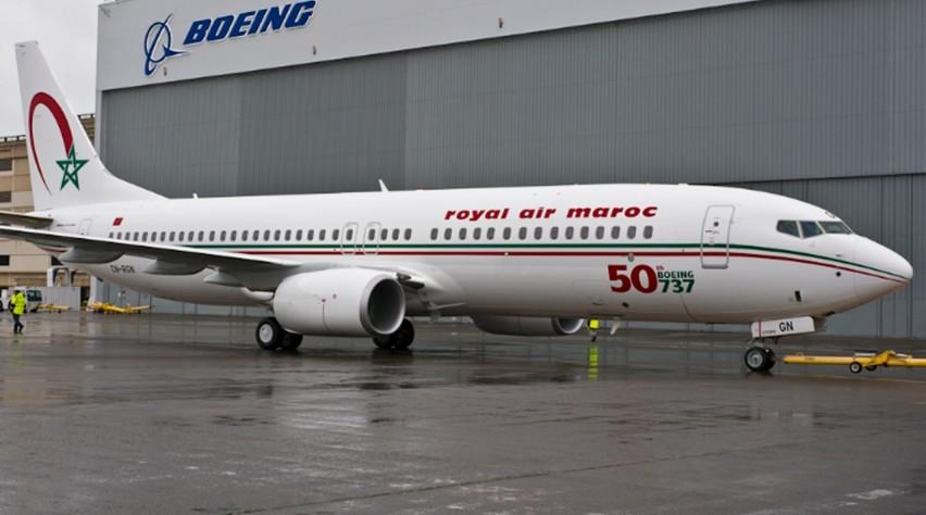 Royal Air Maroc Boeing 737-800