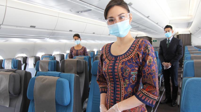 Singapore Airlines masker