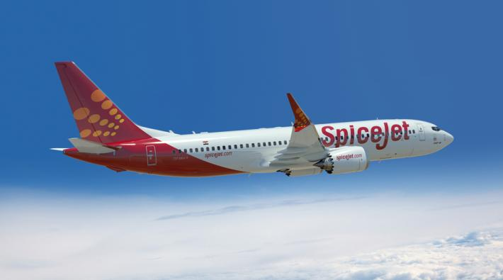 SpiceJet Boeing 737 MAX