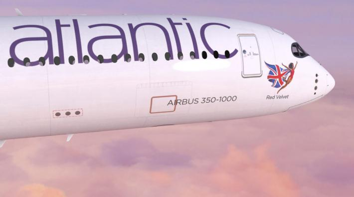 Virgin Atlantic Flying Icon