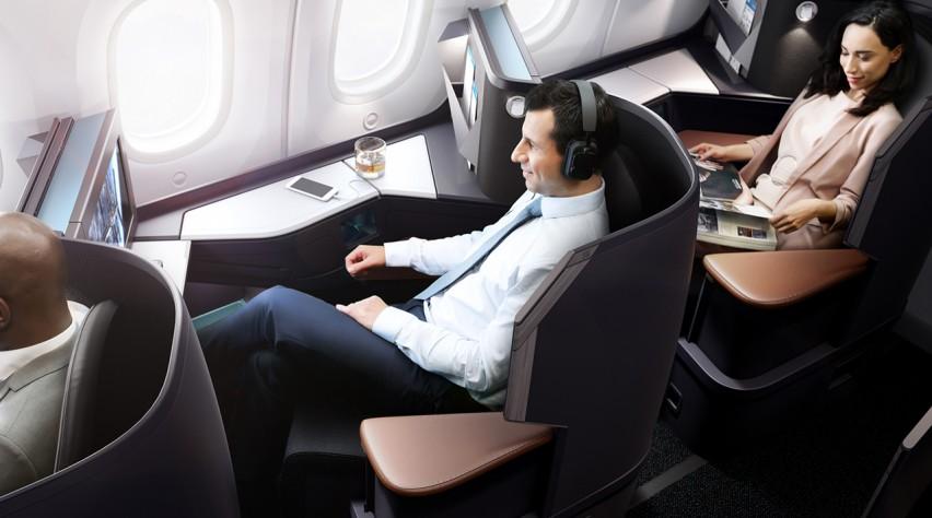 westjet business 787