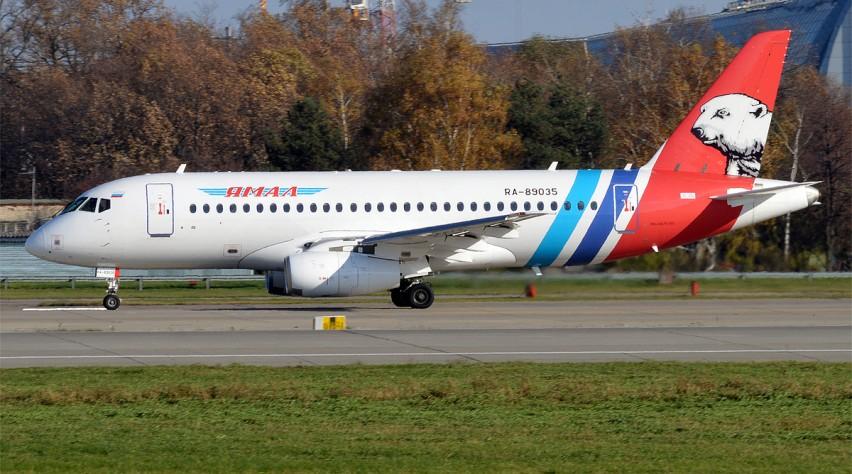 Yamal Superjet Sukhoi 100
