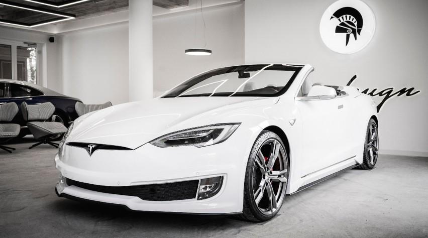 Tesla S Cabrio