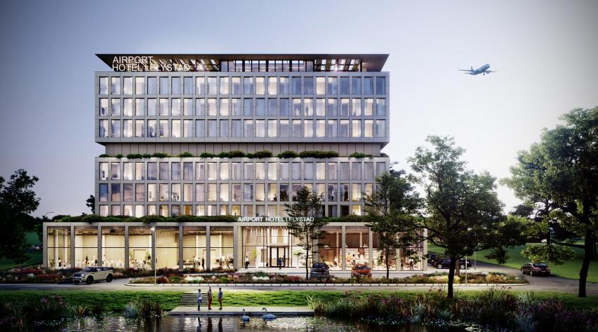 Nieuw hotel Lelystad Airport
