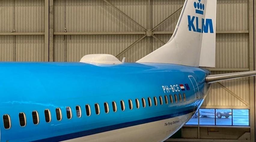 KLM 737 WiFi
