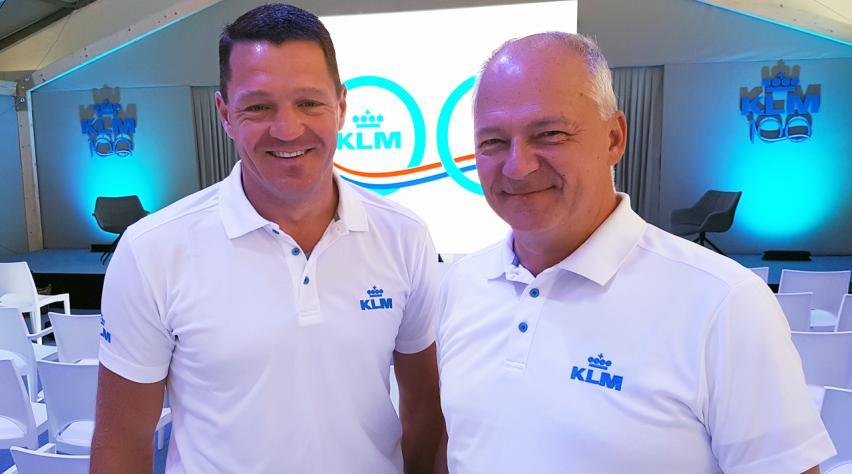 KLM Pieter Elbers Harm Kreulen