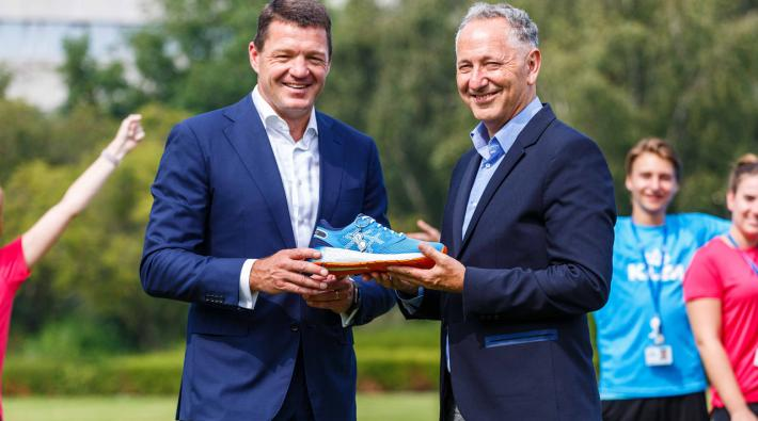 KLM schoen