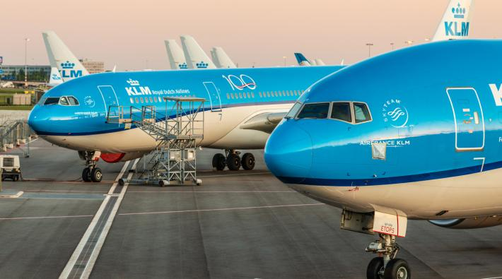 KLM stored