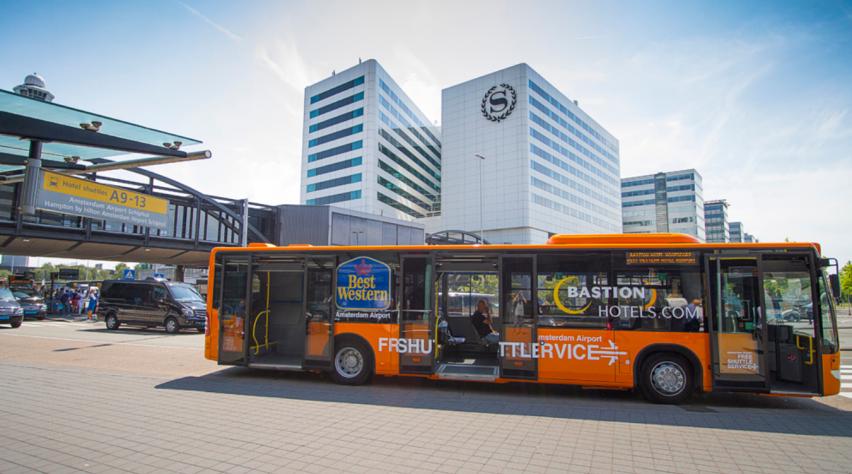 Shuttlebus Schiphol Hotel