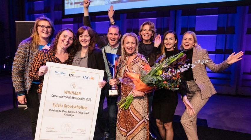 UNIGLOBE Ondernemersprijs Haaglanden