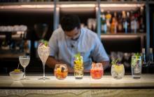 British Airways cocktails
