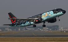 Brussels Airlines Kuifje