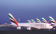 Emirates Vloot Dubai Airport
