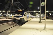 Sprinter sneeuw