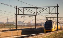 Trein Schiphol NS Dubbeldekker VIRM