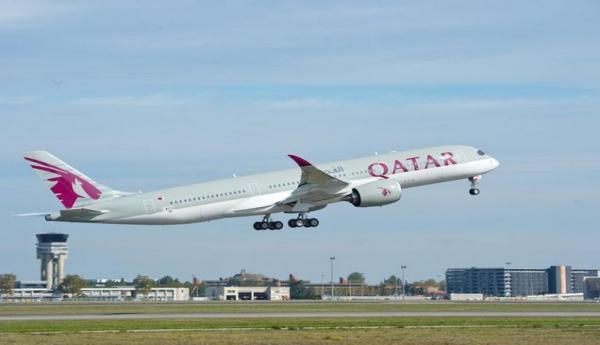 Airbus levert eerste a350 medio december aan qatar airways for Interieur qatar airways
