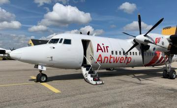Air Antwerp Fokker 50