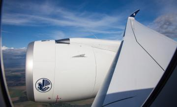 Air France A350 vleugel