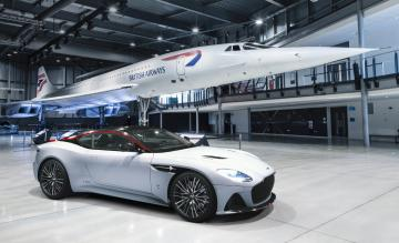 British Airways Aston Martin