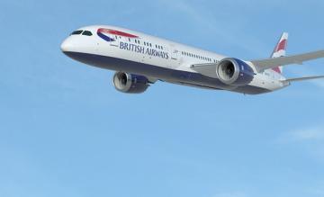 british airways, boeing 787
