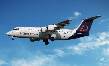 Brussels Airlines BAe Avro RJ85