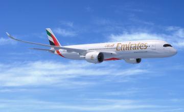 Emirates A350