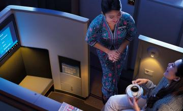 Malaysia Airlines First Class/Business Suites
