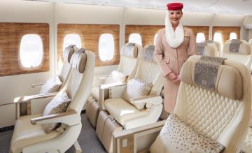 Emirates A380 Premium Economy