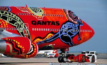 Qantas 747 Wunala
