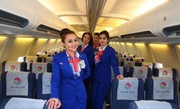 Tajik Air crew