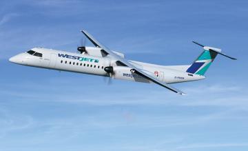 WestJet Bombardier Q400