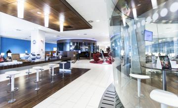 KLM Schengen lounge