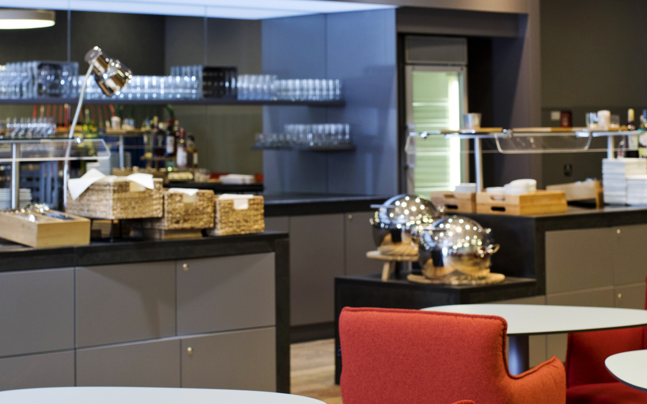 Austrian Airlines lounge
