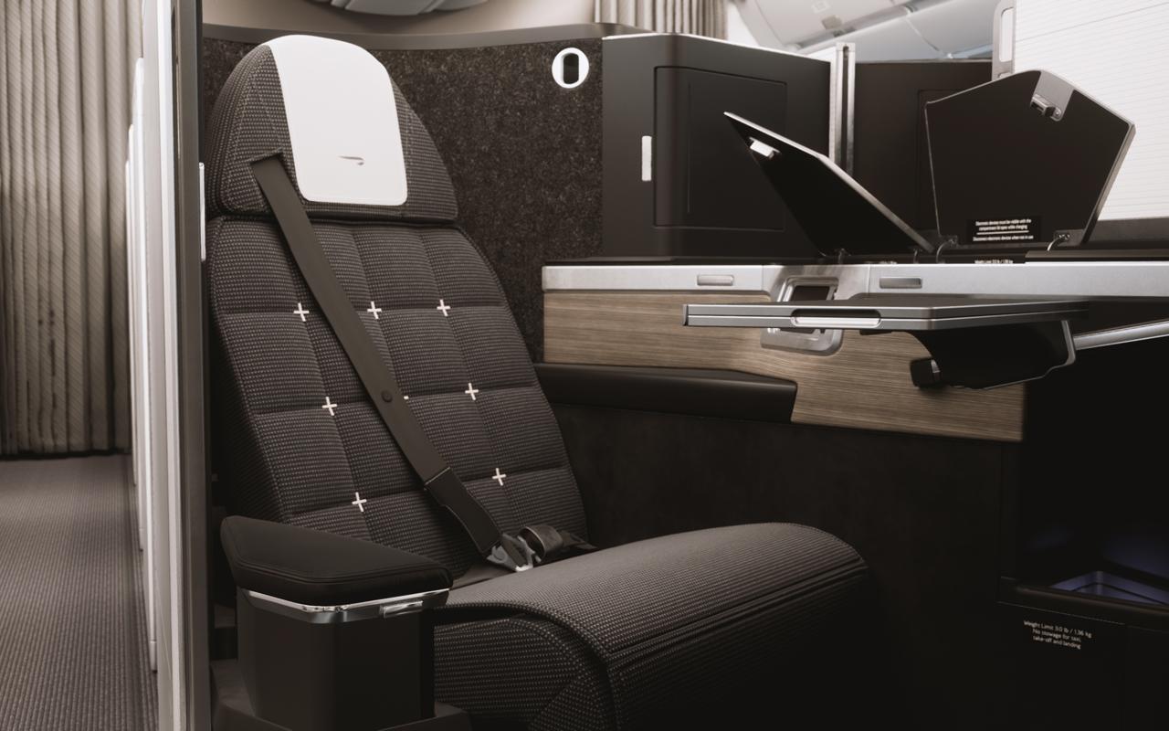 British Airways Club Suites