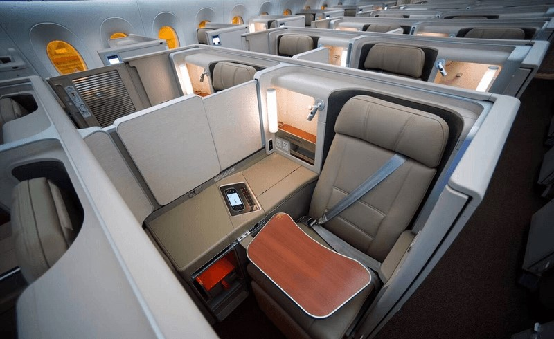 China Eastern Airbus A350 Business Class