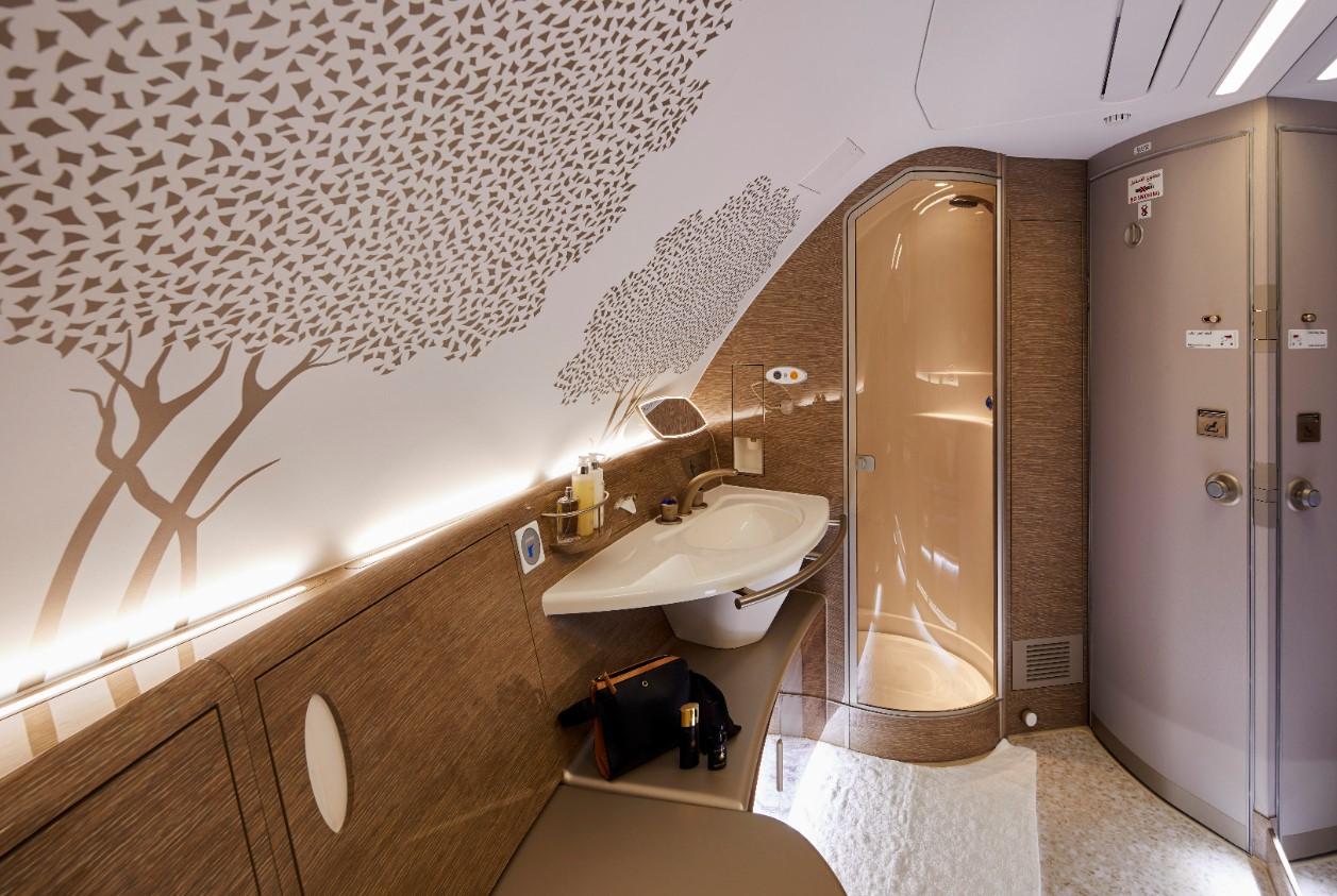 Douche A380